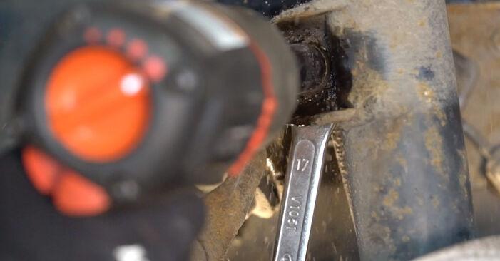 Wie schwer ist es, selbst zu reparieren: Koppelstange BMW E92 320i 2.0 2011 Tausch - Downloaden Sie sich illustrierte Anleitungen