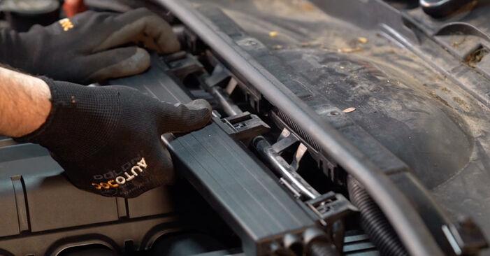 Zündkerzen beim BMW 3 SERIES 325d 3.0 2012 selber erneuern - DIY-Manual