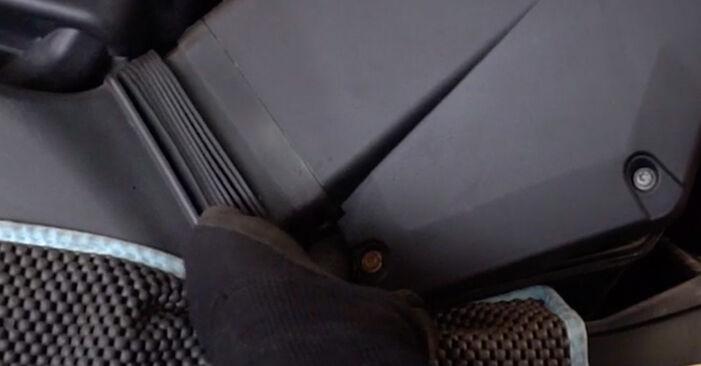 BMW 3 SERIES 335i 3.0 Luftfilter ausbauen: Anweisungen und Video-Tutorials online