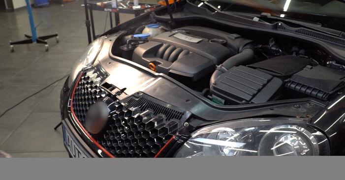 Schritt-für-Schritt-Anleitung zum selbstständigen Wechsel von Golf 5 2009 2.0 TDI 16V Luftfilter