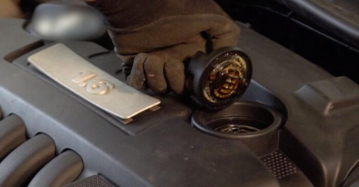 Ölfilter Golf 5 2.0 GTI 2005 wechseln: Kostenlose Reparaturhandbücher