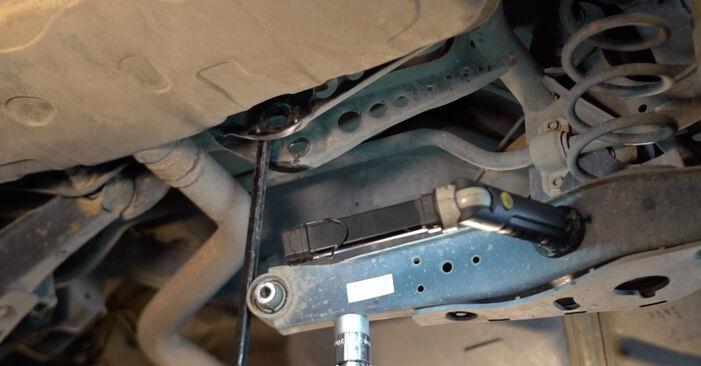 Svojpomocná výmena Tlmič pruzenia na aute Golf 5 2006 1.9 TDI