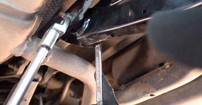 Ako vymeniť Tlmič pruzenia na VW Golf V Hatchback (1K1) 2008: stiahnite si PDF návody a video inštrukcie.
