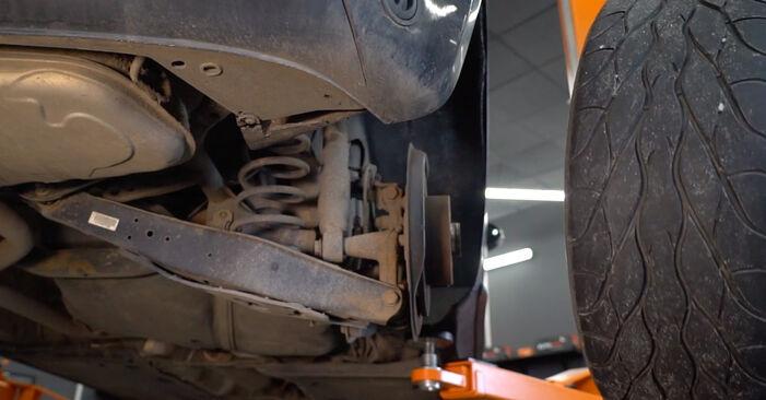 Ako odstrániť VW GOLF 2.0 TDI 16V 2007 Tlmič pruzenia - online jednoduché inštrukcie