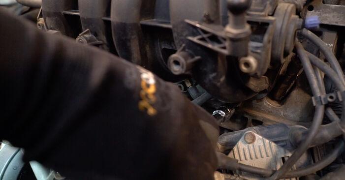 Zündkerzen am VW Golf V Schrägheck (1K1) 1.4 16V 2008 wechseln – Laden Sie sich PDF-Handbücher und Videoanleitungen herunter