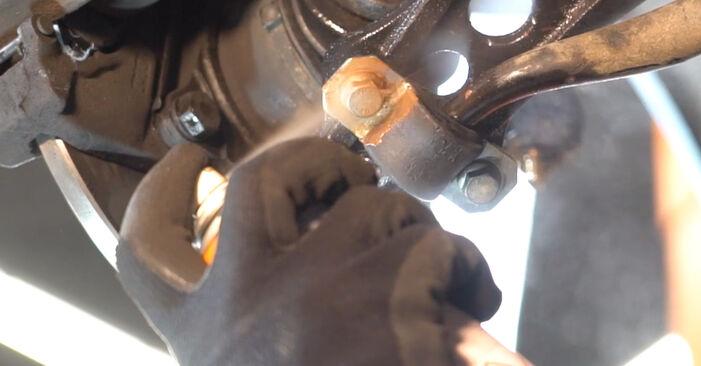 Como trocar Braço De Suspensão no FIAT PUNTO (188) 2011 - dicas e truques