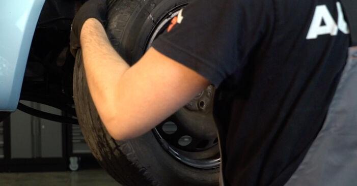Como remover FIAT PUNTO 1.9 JTD 2003 Braço De Suspensão - instruções online fáceis de seguir
