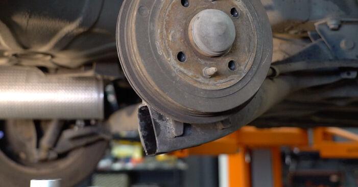 Kiek užtrunka keitimas: Fiat Punto 188 2007 Spyruoklės - informatyvi PDF instrukcija