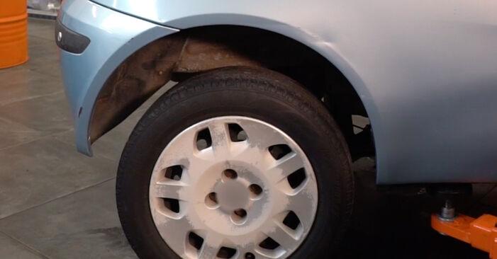 Fiat Punto 188 1.2 16V 80 2001 Spyruoklės keitimas: nemokamos remonto instrukcijos