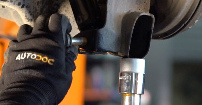 Podrobné odporúčania pre svojpomocnú výmenu Fiat Punto 188 2012 1.9 JTD Tlmič pruzenia