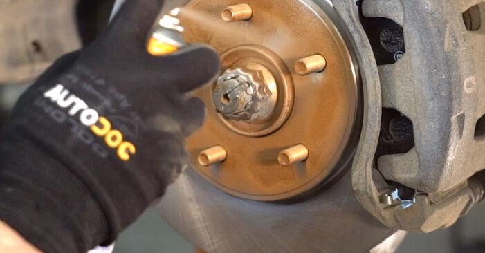 Federn NISSAN LEAF Elektrik 2012 wechseln: Kostenlose Reparaturhandbücher