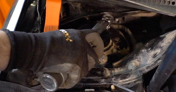 Jak zdjąć VW GOLF 2.0 TDI 16V 2007 Zawieszenie - łatwe w użyciu instrukcje online
