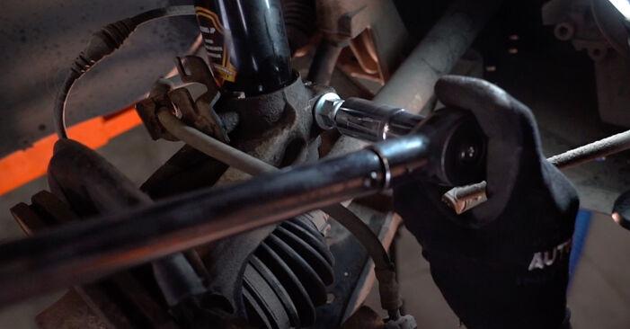 Byt Golf V Hatchback (1K1) 2.0 TDI 16V 2007 Stötdämpare – gör det själv med verkstadsmanual