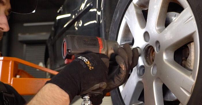 Så byter du Stötdämpare på VW Golf V Hatchback (1K1) 2008: ladda ned PDF-manualer och videoinstruktioner