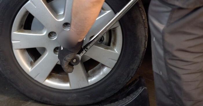 Så byter du Stötdämpare på VW Golf V Hatchback (1K1) 2008 – tips och tricks