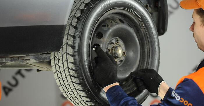 Modifica Freno a Tamburo su FIAT PUNTO (188) 1.9 JTD 80 2002 da solo