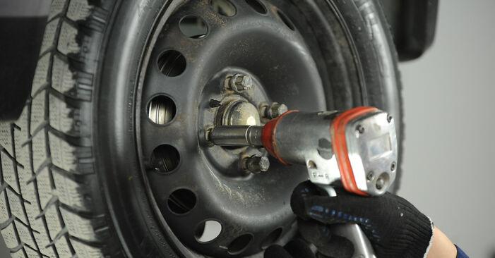 Austauschen Anleitung Bremsbacken am Fiat Punto 188 2009 1.2 60 selbst