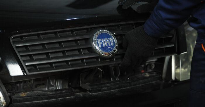 PUNTO (188) 1.9 JTD 2010 1.2 16V 80 Bremsbacken - Handbuch zum Wechsel und der Reparatur eigenständig