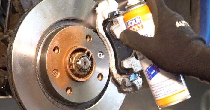 Steg-för-steg-rekommendationer för att byta Peugeot 206 cc 2d 2004 1.6 16V Stabilisatorstag på egen hand
