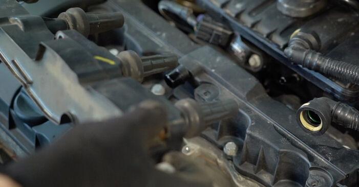 Mudar Vela de Ignição no Peugeot 206 cc 2d 2008 não será um problema se você seguir este guia ilustrado passo a passo