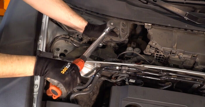Ar sudėtinga pasidaryti pačiam: Audi A6 4f2 3.0 TDI quattro 2010 Spyruoklės keitimas - atsisiųskite iliustruotą instrukciją
