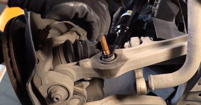 Ar sudėtinga pasidaryti pačiam: Audi A6 4f2 3.0 TDI quattro 2010 Amortizatorius keitimas - atsisiųskite iliustruotą instrukciją