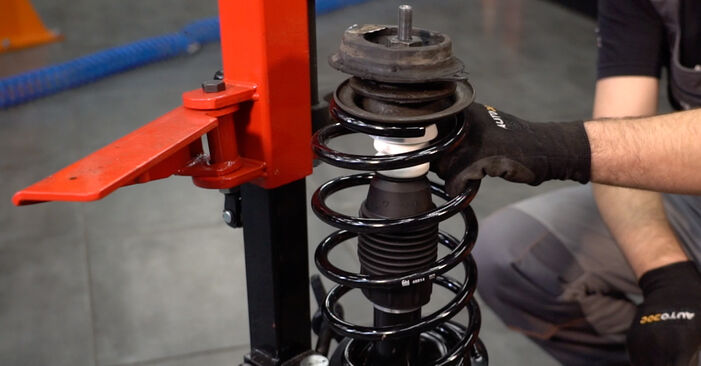 Federn Fiat Punto 188 1.3 JTD 16V 2001 wechseln: Kostenlose Reparaturhandbücher