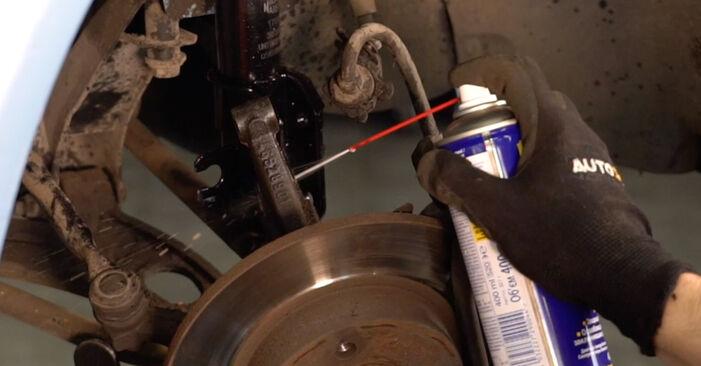 Federn am FIAT PUNTO (188) 1.2 Natural Power 2004 wechseln – Laden Sie sich PDF-Handbücher und Videoanleitungen herunter