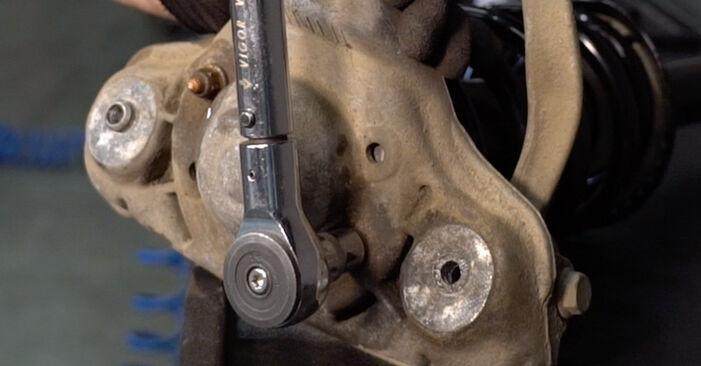 Zawieszenie w VW PASSAT Variant (3B6) 1.9 TDI 4motion 2002 samodzielna wymiana - poradnik online