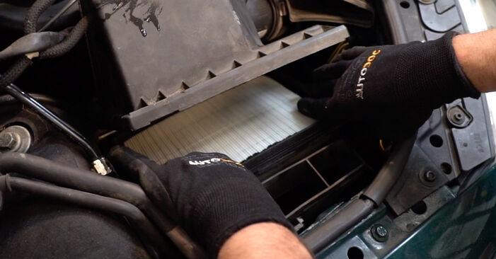 Passat 3B6 2004 1.9 TDI Oro filtras keitimas savarankiškai