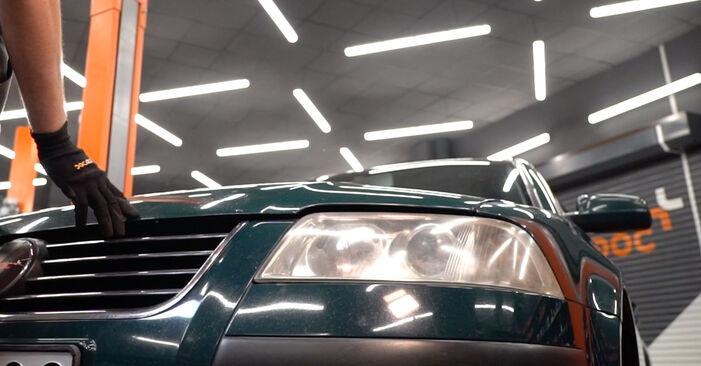 Savarankiškas VW PASSAT Variant (3B6) 2.0 2003 Oro filtras keitimas