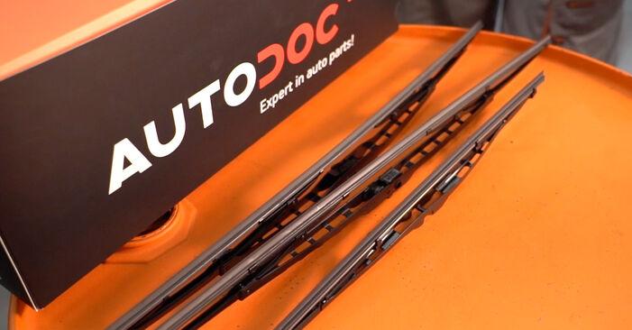 Wie Scheibenwischer Passat B5 1.9 TDI 2000 tauschen - Kostenlose PDF- und Videoanleitungen