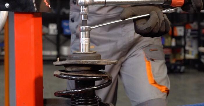 Come cambiare Molla Ammortizzatore su Peugeot 206 cc 2d 2000 - manuali PDF e video gratuiti
