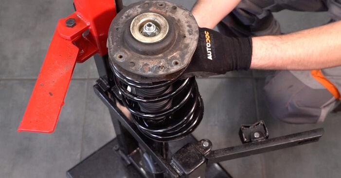 Peugeot 206 cc 2d 2.0 S16 2002 Molla Ammortizzatore sostituzione: manuali dell'autofficina