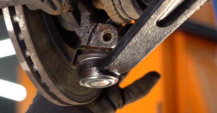 Consigli passo-passo per la sostituzione del fai da te Peugeot 206 cc 2d 2004 1.6 16V Molla Ammortizzatore