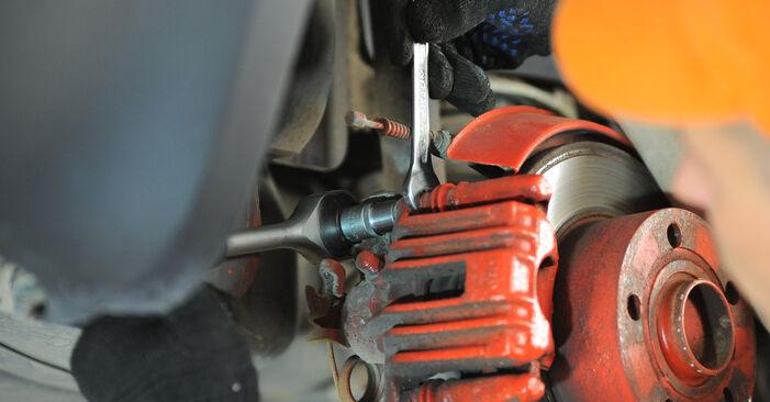 Bremssattel beim VW PASSAT 2.5 TDI 4motion 2001 selber erneuern - DIY-Manual