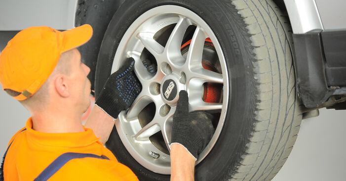 Wie schwer ist es, selbst zu reparieren: Bremssattel Passat B5 2.0 TDI 2000 Tausch - Downloaden Sie sich illustrierte Anleitungen