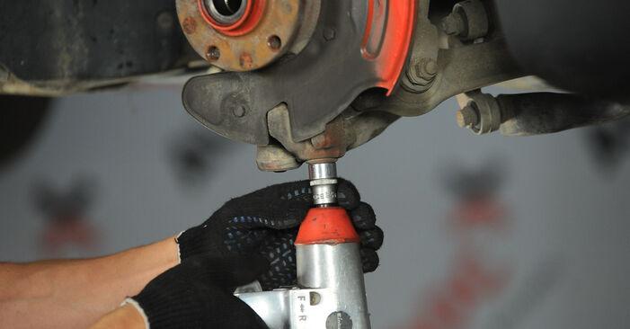 Kaip pakeisti VW PASSAT Variant (3B6) 2000 Rato guolis - patarimai ir gudrybės