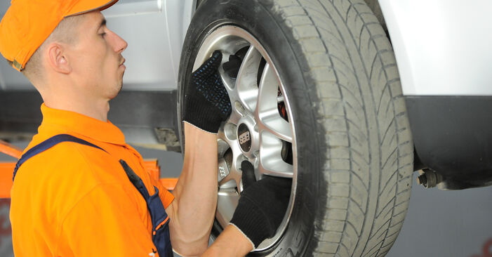 Kaip pakeisti VW PASSAT Variant (3B6) 1.9 TDI 2001 Rato guolis - išsamios instrukcijos ir vaizdo pamokos