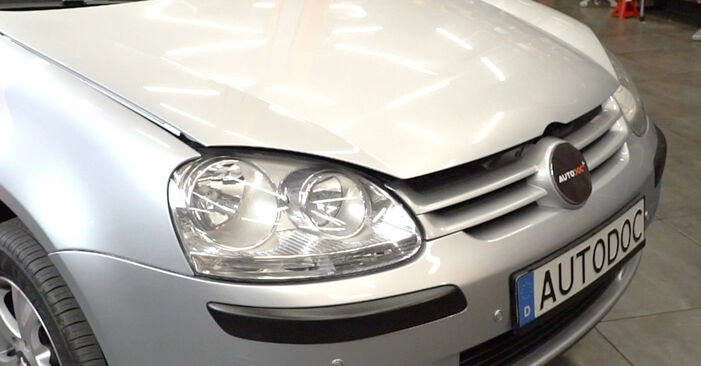 How to change Lambda Sensor on Golf 5 2003 - free PDF and video manuals