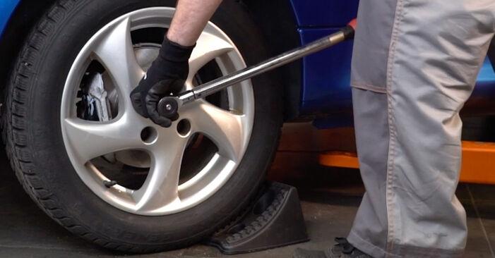 Stoßdämpfer Ihres Peugeot 206 CC 1.6 16V 2008 selbst Wechsel - Gratis Tutorial
