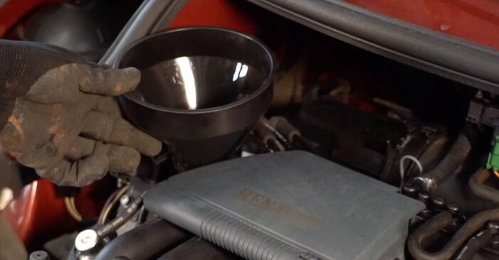 Ölfilter Renault Twingo Mk1 1.0 1995 wechseln: Kostenlose Reparaturhandbücher