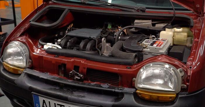 Luftfilter Ihres Renault Twingo Mk1 1.2 2001 selbst Wechsel - Gratis Tutorial