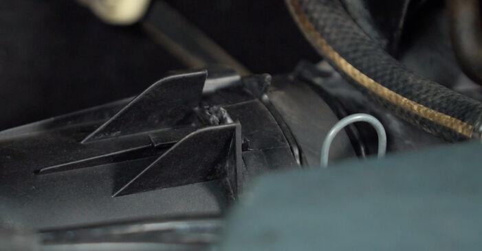 Luftfilter beim RENAULT TWINGO 1.2 LPG 2000 selber erneuern - DIY-Manual
