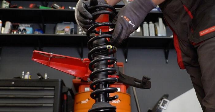 Wie schwer ist es, selbst zu reparieren: Stoßdämpfer Alfa Romeo 147 937 2.0 16V T.SPARK 2006 Tausch - Downloaden Sie sich illustrierte Anleitungen