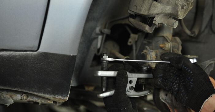 Austauschen Anleitung Radlager am Fiat Punto 188 2009 1.2 60 selbst