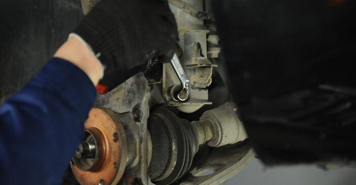 Wie schwer ist es, selbst zu reparieren: Radlager Fiat Punto 188 1.4 2005 Tausch - Downloaden Sie sich illustrierte Anleitungen