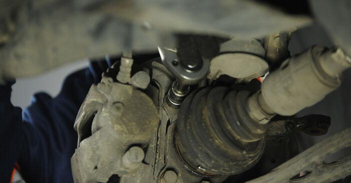 Schritt-für-Schritt-Anleitung zum selbstständigen Wechsel von Fiat Punto 188 2012 1.9 JTD Radlager