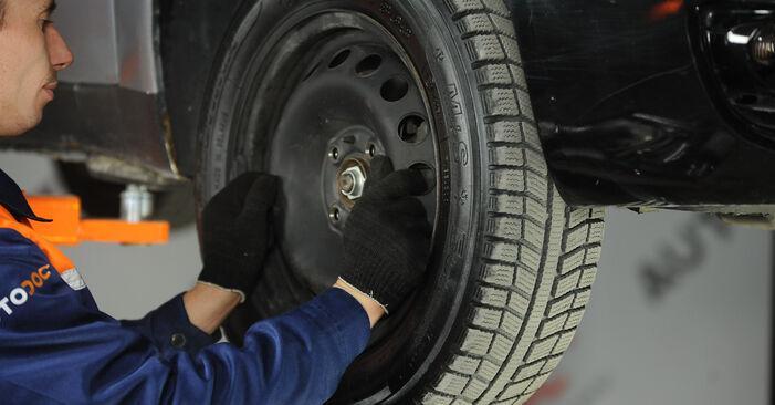Radlager Fiat Punto 188 1.3 JTD 16V 2001 wechseln: Kostenlose Reparaturhandbücher