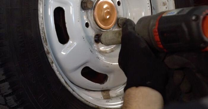 Recommandations étape par étape pour remplacer soi-même Renault Twingo 1 2006 1.2 Amortisseurs